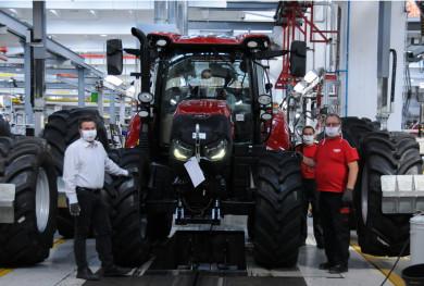 Завод за производство на трактори Case IH с престижна награда