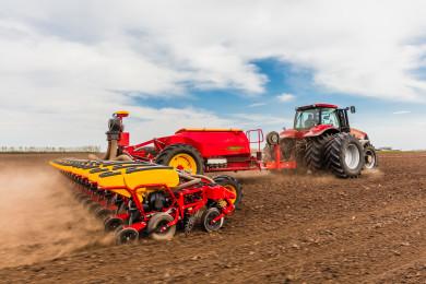 Началото на иновациите - Väderstad удвоява вашия капацитет на полето