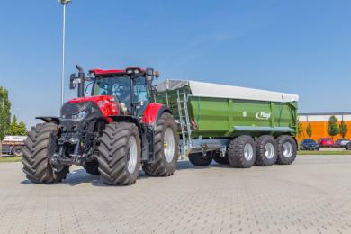 Тайтън Машинъри и Fliegl Agrartechnik стартират търговско партньорство