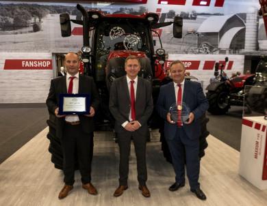 """Case IH Maxxum 145 Multicontroller е носител на приза """"Трактор на годината"""" и наградата за """"Най-добър дизайн"""", за 2019г."""