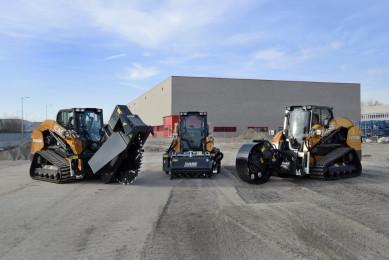 CASE представя нова В-серия компактни верижни товарачи и мини челни товарачи