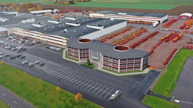 Vaderstad с нов заводски център през 2022г.