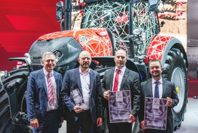 Case IH receives two awards at Agritechnica 2019