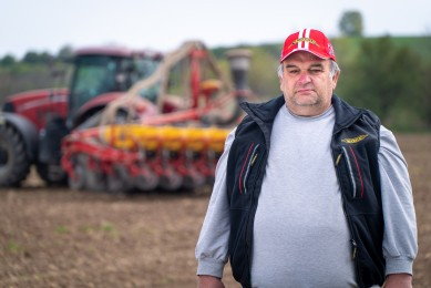 Velin Mechkarov shares his experience with Vaderstad Tempo