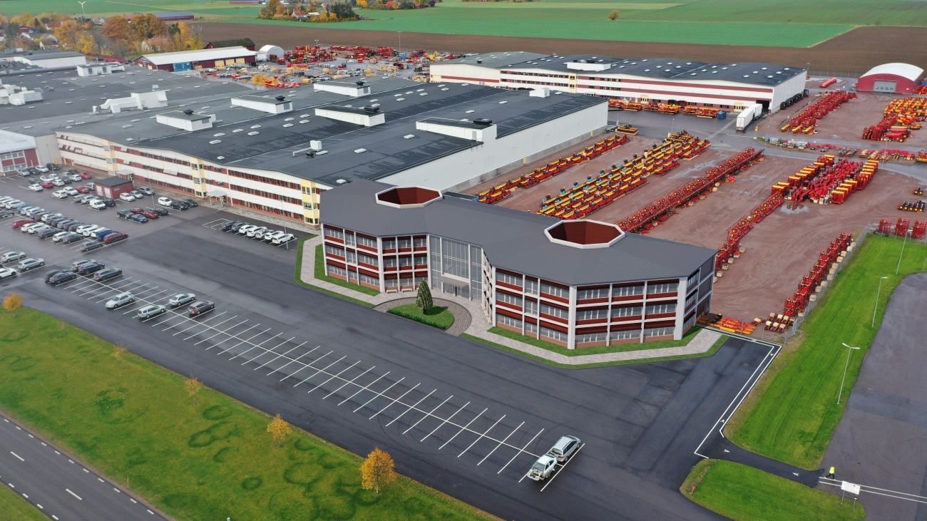 Vaderstad - нов заводски център